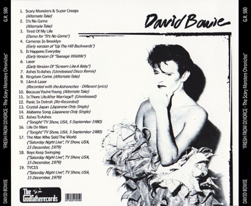 DAVID-BOWIE-Fresh-from Divorce -Selfmade Back