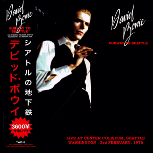 David Bowie 1976-02-03 Seattle ,Center Coliseum - Subway To Seattle (Vinyl) - SQ 8