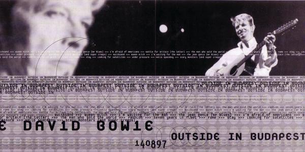 David Bowie [1997.08.14] Outside In Budapest (TABOO140897) - Insert Fold-1