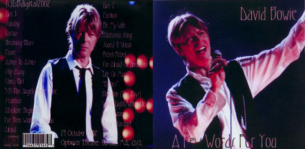 david-bowie-A-Few-Words-For-You-Full Front