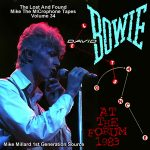 David Bowie 1983-08-14 Inglewood ,Los Angeles ,The Forum - Let's Dance At The Forum 1983 - (Mike Millard 1e Gen.) SQ -9