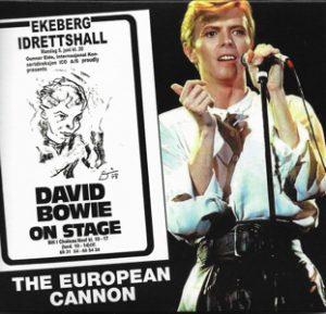 David Bowie 1978-06-05 Oslo ,Ekebergshallen - The European Cannon - SQ 8,5
