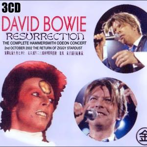David Bowie 2002-10-02 London Hammersmith Odeon / Carlin Apollo and Maida Vale Studios - Resurrection - SQ -9