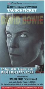 David Bowie BN 2002