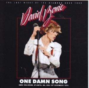 David Bowie 1974-12-01 Atlanta ,Omni Arena - One Damn Song - SQ -7