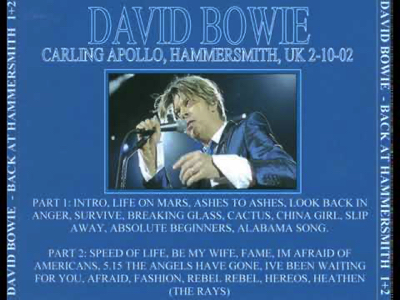 """david-bowie-back-to-hammersmith-2002-10-02"""