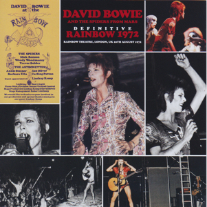 David Bowie 1972-08-20 London ,The Rainbow Theatre - Definitive Rainbow 1972 - (Wardour label) - SQ 8+