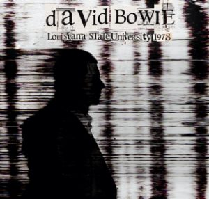 David Bowie 1978-04-11 Baton Rouge ,Louisiana State University - Louisiana State University - SQ 8,5