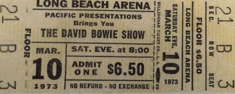 """""""david-bowie-1972-03-10-Ticket"""""""
