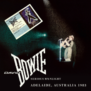 David Bowie 1983-11-09 Adelaide ,Oval Cricket Ground - Adelaide Australia 1983 - SQ 8+