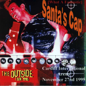 David Bowie 1995-11-27 Cardiff ,International Arena - What a fantastic Santas Cap - SQ 9.