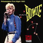 David Bowie 1983-07-18 Philadelphia ,Spectrum Arena – Philadelphia First Night 1983 – SQ 8+