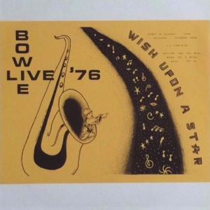 David Bowie 1976-02-09 Los Angeles ,The Forum - Wish Upon A Star - (Vinyl) - SQ -8