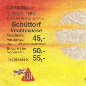 David Bowie 1990-09-01 Schuttorf ,Veechtewiese (Open Air Festival) - SQ 8