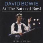 David Bowie 1990-08-05 Milton Keynes ,Milton Keynes Bowl – At The National Bowl – (Unicorn 2020) – SQ 9,5