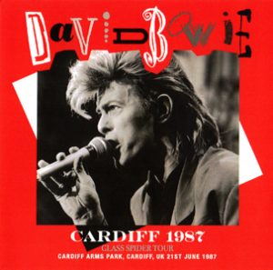 David Bowie 1987-06-21 Cardiff ,Arms Park Rugby Ground - Cardiff 1987 - SQ 8+