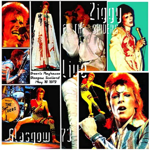 David Bowie 1973-05-18 Glasgow ,Apollo Theatre - Glasgow 73 - (1st. Show ,Matinee) - SQ 6