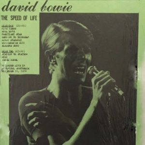 David Bowie 1978-11-11 Adelaide ,Oval Cricket Ground - Speed Of Life (2) - (Vinyl) - SQ -8
