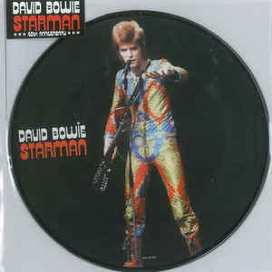 David Bowie Picture Disc Starman