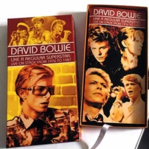 David Bowie Like A Regular Superstar - Live On Stage From 1976 to 1987 (Box set) - SQ 8