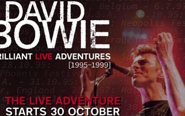 David Bowie Brilliant Live Adventures 1995-1999 – Six brand new live albums