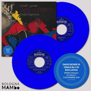 David Bowie vinyl exclusives for Bologna Mabo Museum