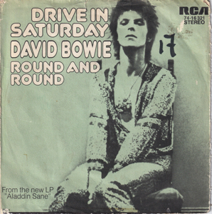 David Bowie Drive In Saturday - Round And Round (1973) estimated value € 18,00
