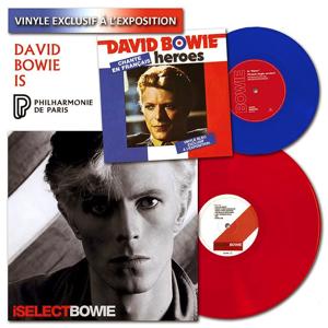 David Bowie vinyl exclusives La Philharmonie, Paris