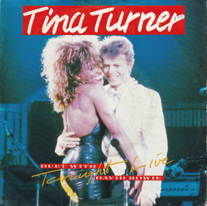 David Bowie and Tina Turner Tonight - River Deep Mountain High (1988) estimated value € 5,00