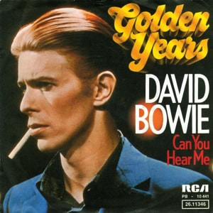 David Bowie Golden years - Can You Hear Me (1975) estimated value € 20,00