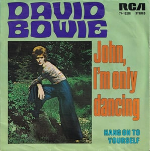 David Bowie John, I'm only dancing - Hang On To Yourself (1972) estimated value € 120,00