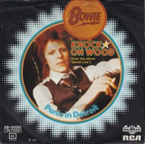 David Bowie Knock On Wood - Panick In Detroit (1974) estimated value € 30,00