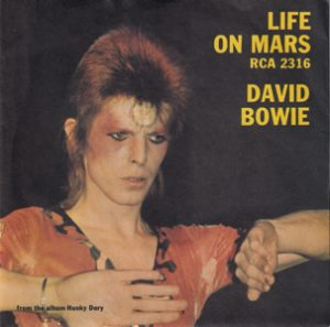 David Bowie Life On Mars – The Man Who Sold The World (1973 UK) estimated value € 40,00