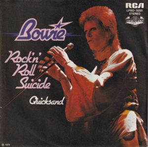 David Bowie Rock 'n' Roll Suicide - Quicksand (1974 Germany) estimated value € 20,00