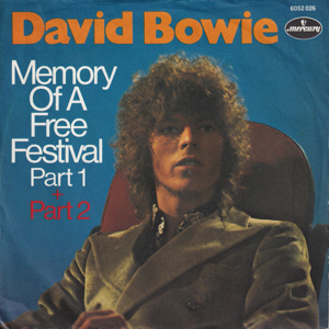 David Bowie Memory Of The Free Festival Part 1 & Part 2 (1970 Germany) estimated value € 425,00