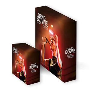 David Bowie Brilliant Live Adventures CD/Vinyl Slip Case Box