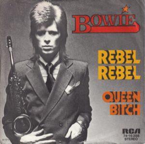 David Bowie Rebel Rebel - Queen Bitch (1974 Germany) estimated value € 20,00