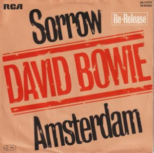 David Bowie Sorrow – Amsterdam (1981 Re Release Germany) estimated value € 10,00