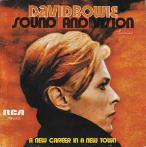 David Bowie Sound And Vision - A New Career In A New Town (1977 The Netherlands) estimated value € 20,00