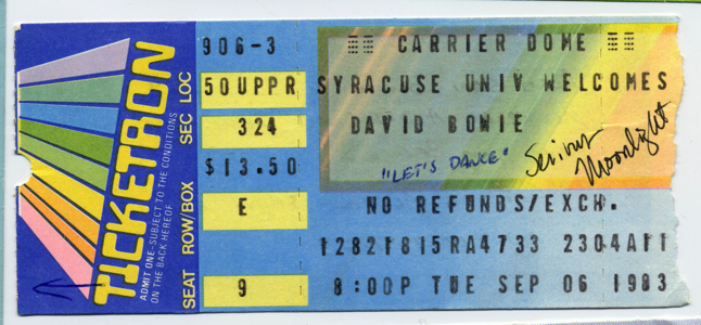 06 Sep 1983 Carrier Dome Syracuse, NY copy