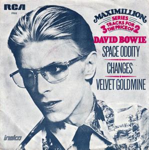 David Bowie Space Oddity - Changes - Velvet Goldmine (1975 Netherlands) estimated value € 10,00
