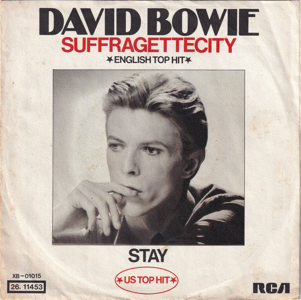 David Bowie Suffragette City - Stay - (1976 Germany) estimated value € 50,00