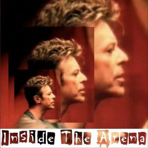 David Bowie 1995-11-18 London ,Wembley Arena - Inside The Arena - SQ -9.