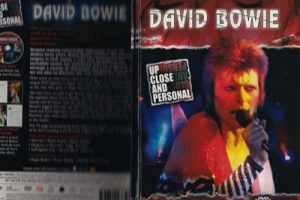 David Bowie Up Close And Personal - DVD and Hardback Book Set (Documentary) 2007