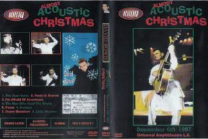 David Bowie 1997-12-06 Los Angeles ,Universal Amphitheatre – Almost Acoustic Christmas - (KROQ Broadcast ,Almost Acoustic Christmas Show)