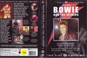 David Bowie Inside Bowie And The Spiders 1969-1974 - An Independant Critical Review - (2 Disc & Book set) (Documentary Unofficial Release)
