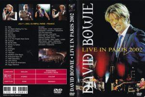 David Bowie 2002-07-01 Paris ,L'Olympia Bruno Coquartrix – Live In Paris 2002 – (French Arte T.V. Music Planet Special)