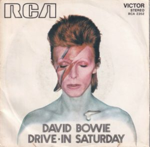 David Bowie Drive In Saturday – Round And Round (1973 Italy) estimated value € 110,00.