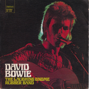 David Bowie The Laughing Gnome - Rubber Band (1973 Spain) estimated value € 85,00