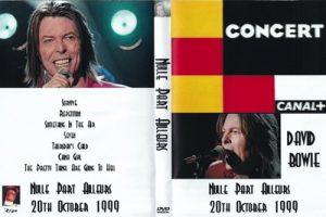 David Bowie 1999-10-20 Paris ,Nulle Part Ailleurs – Broadcast TV Canal+ - (31 min)